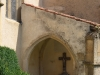 Vue derrière l\'Eglise paroissiale St Martin