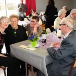 Tous les ans, le repas annuel des anciens permet de mettre à l'honneur la doyenne et le doyen du village