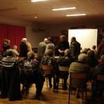 De nombreux évènements sont organisés dans la salle Jacques Prévert, comme ici, une projection de films des Mémoires du Pays de l'Orne.