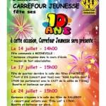 Festivités 10 ans Carrefour