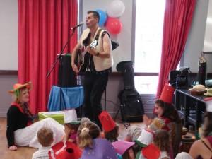 Chanteur enfants