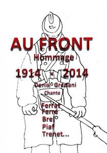 AFFICHE Au Front