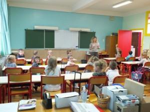 Chez Mme Matthieu, les petits élèves de CP sont déjà au travail !