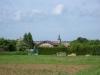 L\'entrée du village depuis la route de Labry