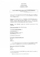 PV du Conseil Municipal du 1er avril 2021