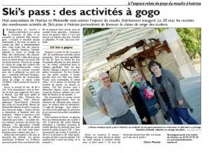 Article Ski's pass
